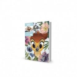 Album Foto 100 Bolsillos 10X15Cm Disney Bambi Nature