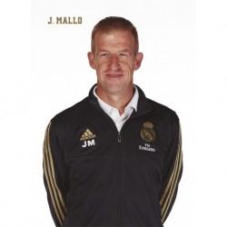 Postal Real Madrid 2019/2020 Javier Mallo Busto