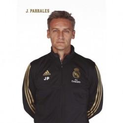 Postal Real Madrid 2019/2020 Jose Carlos G. Parrales Busto