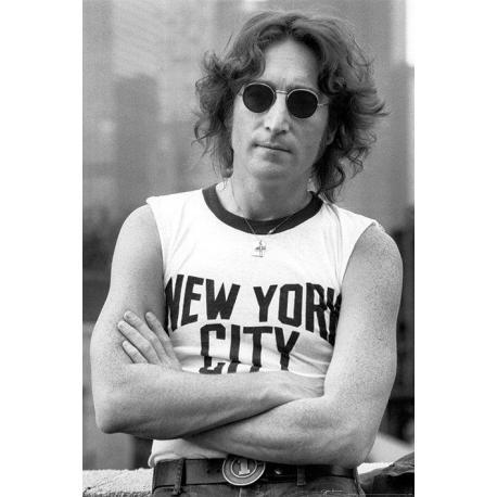 Poster John Lennon NYC Bob Gruen