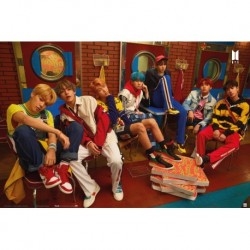 Poster Bts Pizza