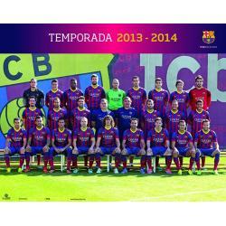 Miniposter F.C. Barcelona Plantilla 2013-14