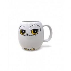 Taza Ovalada Harry Potter Hedwig