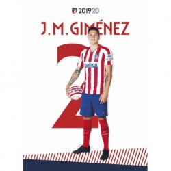 Postal Atletico De Madrid 2019/2020 Gimenez