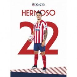 Postal Atletico De Madrid 2019/2020 Hermoso