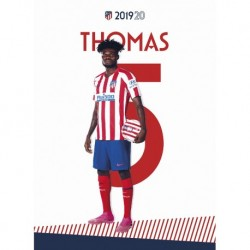 Postal Atletico De Madrid 2019/2020 Thomas
