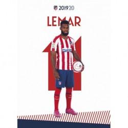 Postal Atletico De Madrid 2019/2020 Lemar