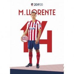 Postal Atletico De Madrid 2019/2020 Llorente