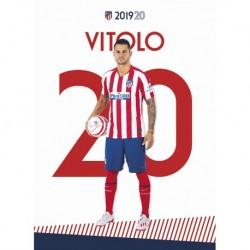 Postal Atletico De Madrid 2019/2020 Vitolo