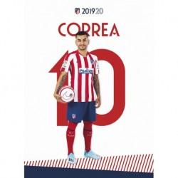 Postal Atletico De Madrid 2019/2020 Correa