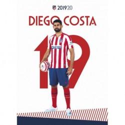 Postal Atletico De Madrid 2019/2020 Diego Costa