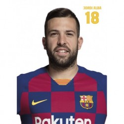 Postal Fc Barcelona 2019/2020 Alba Busto