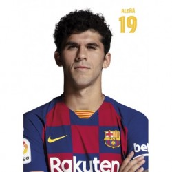 Postal Fc Barcelona 2019/2020 Aleña Busto