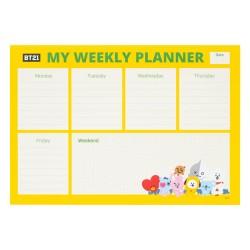 Bloc Planificador Semanal A4 BT21