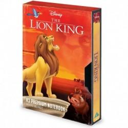 Cuaderno A5 Premium Disney El Rey Leon Vhs