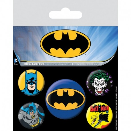 Pack Chapas Dc Comics Batman