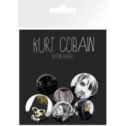 Pack de Chapas Kurt Cobain