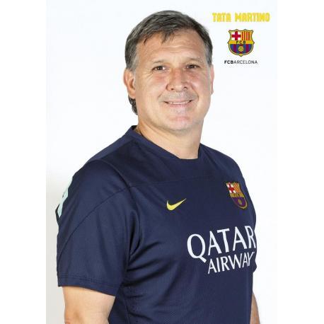 Postal F.C. Barcelona Gerardo Martino (TATA) 2013-14
