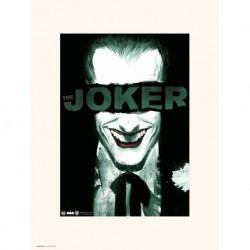 Lamina 30X40Cm The Joker Smile