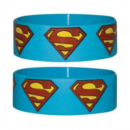 Pulsera Silicona Superman Logo