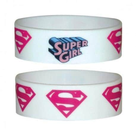 Pulsera Silicona Supergirl Logo