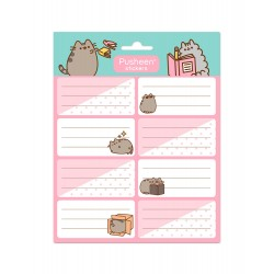 Etiquetas Escolares Pusheen Rose Collection