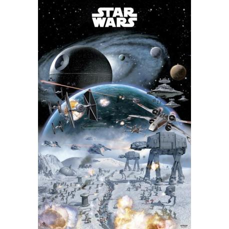 Poster Star Wars-Guerra