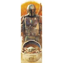 Poster Puerta Star Wars The Mandalorian