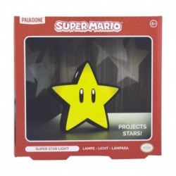 Lampara Proyectora Super Mario Super Star