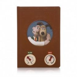 Cuaderno Premium Aardman Wallace & Gromit Inventor'S