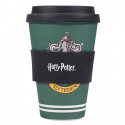 Taza De Viaje Harry Potter Slytherin