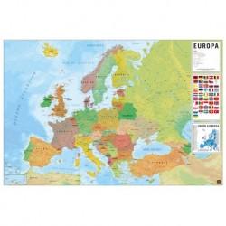 Poster Mapa Europa Fisico Politico