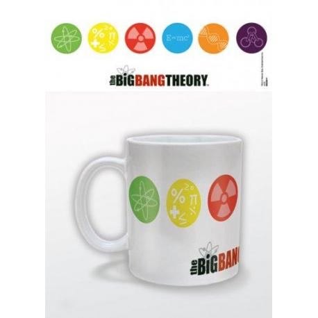 Taza Big Bang Theory-Simbolos