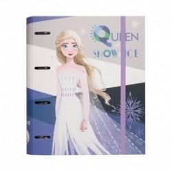 Carpeta 4 Anillas Troquelada Premium Disney Frozen 2