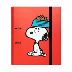 Carpeta 2 Anillas Troquelada Premium Snoopy