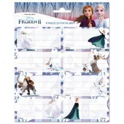Etiquetas Escolares Adhesivas Disney Frozen 2
