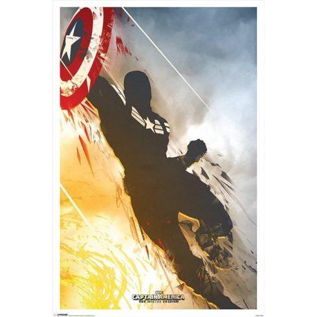 Poster Marvel-Capitan America