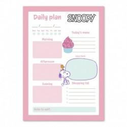 Bloc Notas De Escritorio Snoopy