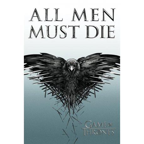 Poster Juego De Tronos-All Men Must Die