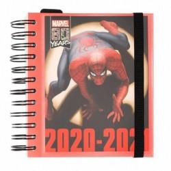 Agenda Escolar 2020/2021 Diaria Marvel Classic