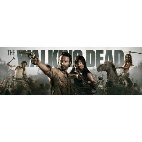 Poster Puerta The Walking Dead-Banner