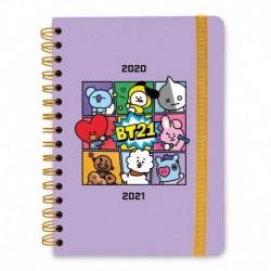 Agenda Escolar 2020/2021 A5 Semanal Bt21