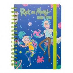Agenda Escolar 2020/2021 A5 Semanal Rick & Morty