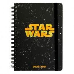 Agenda Escolar 2020/2021 A5 Semanal Star Wars Logo
