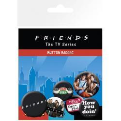 Pack De Chapas Friends