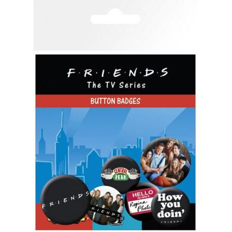 Pack De Chapas Friends