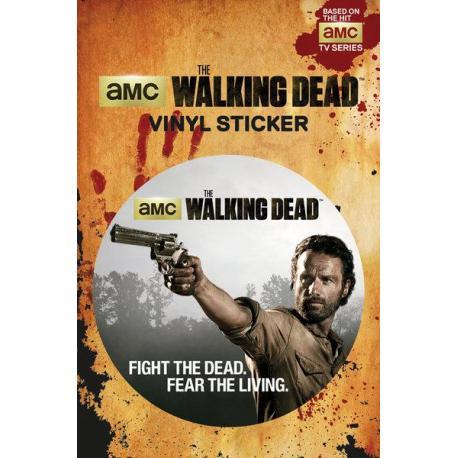 Pegatina Vinilo The Walking Dead-Rick