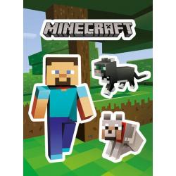 Pack De Pegatina Minicraft Steve And Pets