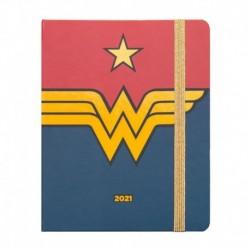 Agenda Escolar 2020/2021 Semanal Premium Wonder Woman