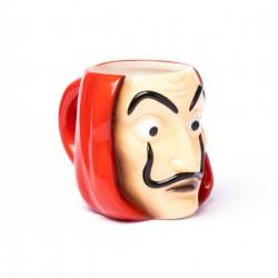 Taza 3D La Casa De Papel Mascara